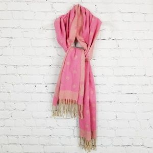 J.crew|Made in Italy Brushed Scarf with Polka Dots